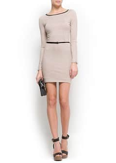 Bodycon knit dress