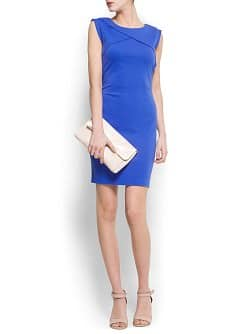 Origami stretch-jersey dress