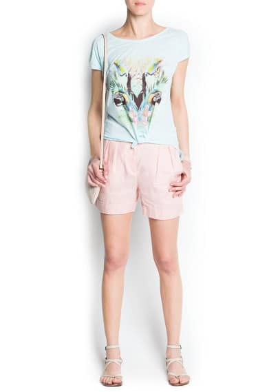 Toucan printed t-shirt