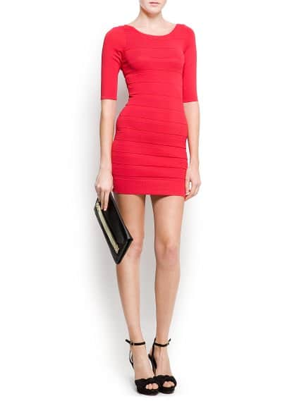 Bandage knit dress