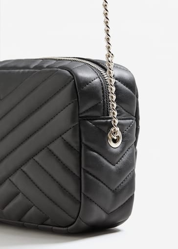 Quilted Chain Bag Women Mango Usa
