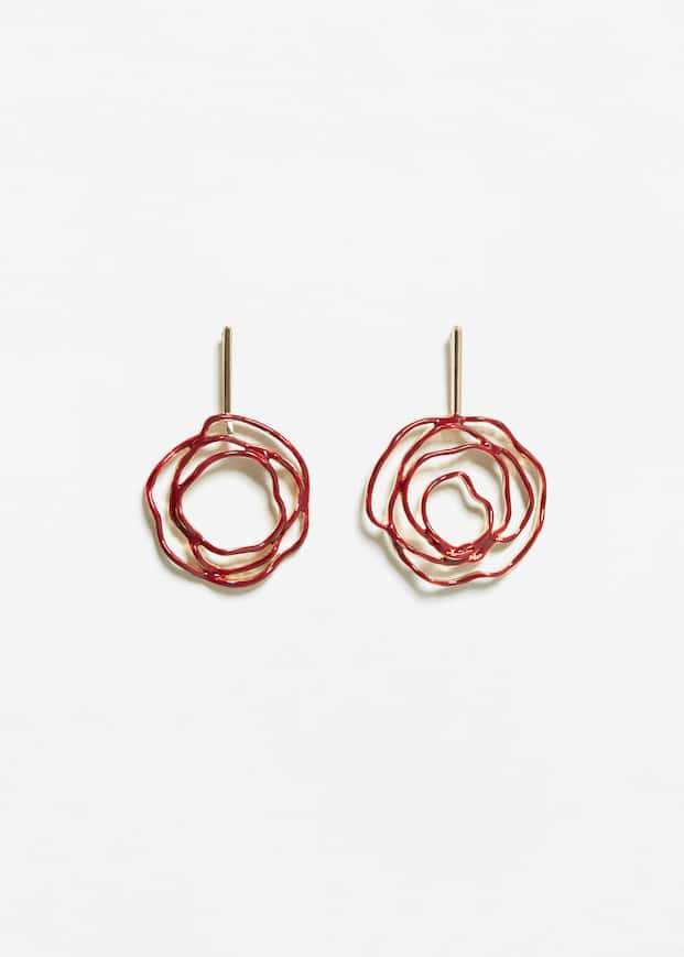 Twisted earrings - Woman | MANGO Malta