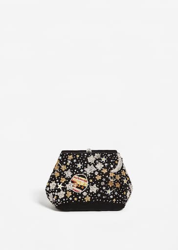 ed4f78523c54 Velvet bead bag - Women