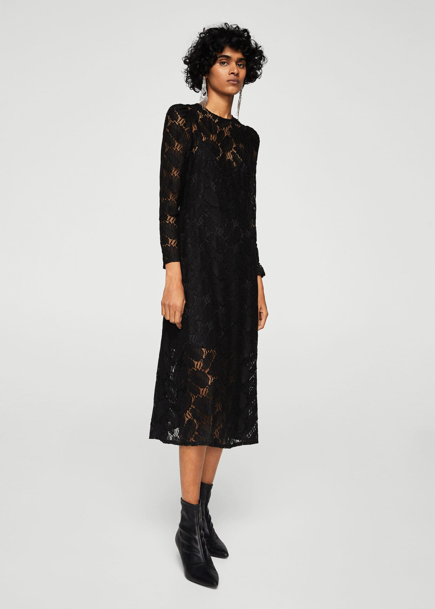 Floral Lace Dress Woman Outlet Norway