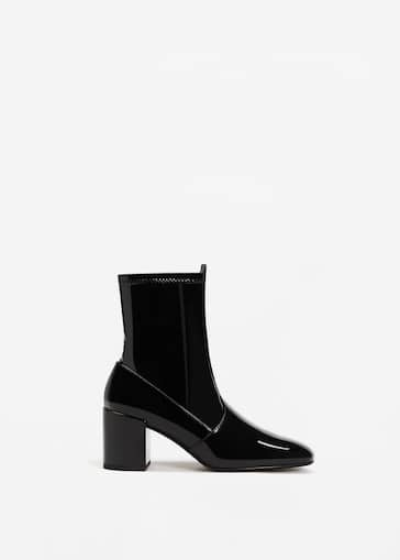 wholesale dealer 1b6d4 e39b1 Patent ankle boots