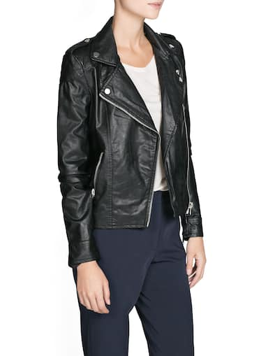092155ac1c7 Faux leather biker jacket - Women