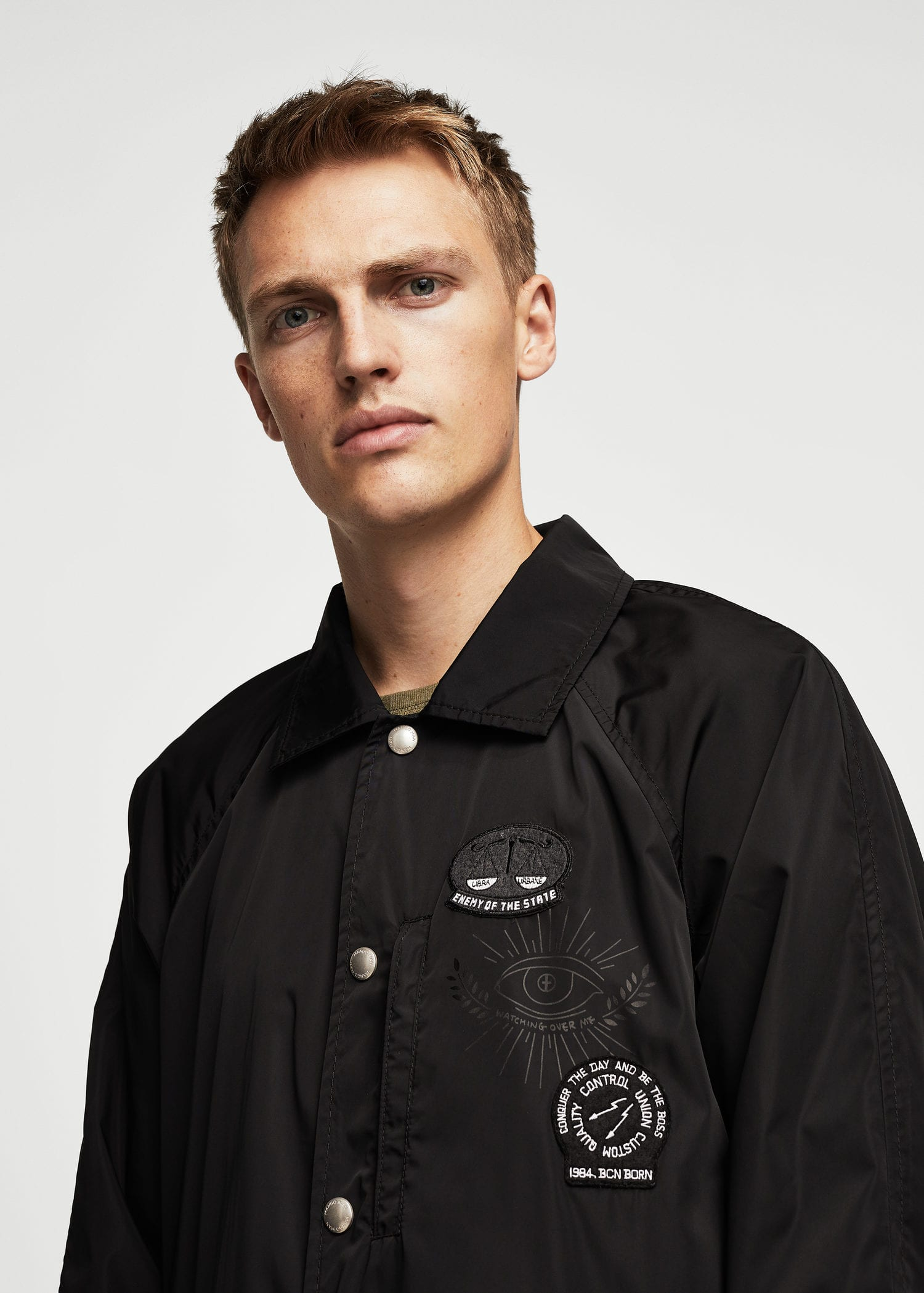 Water Repellent Jacket by Mango