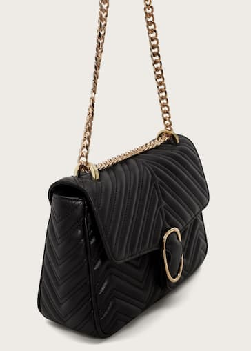 Quilted Chain Bag Woman Mango Cambodia