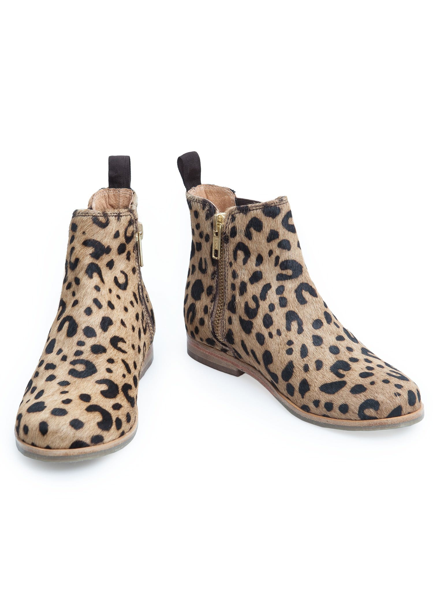 Leopard chelsea ankle boots - Girls