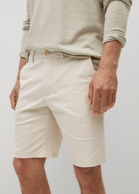 Chino Bermuda shorts - Medium plane