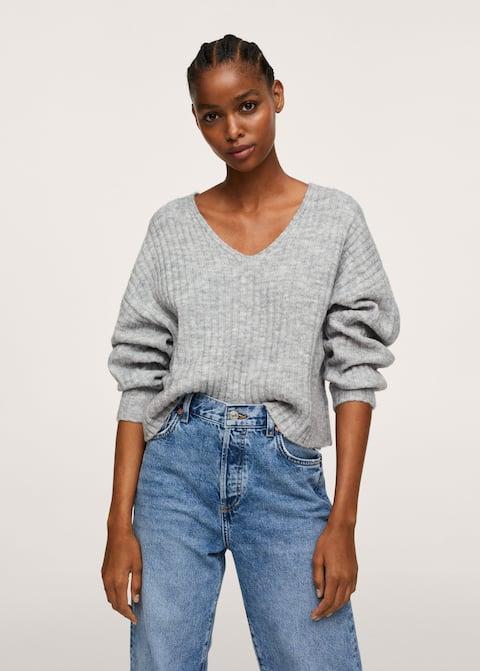 MANGO Cropped ribbed sweater £29.99 at Mango