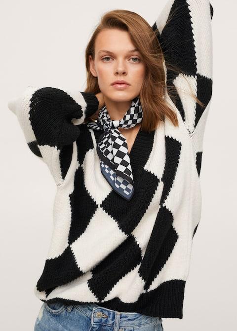 MANGO Rhombus knit sweater £49.99 at Mango
