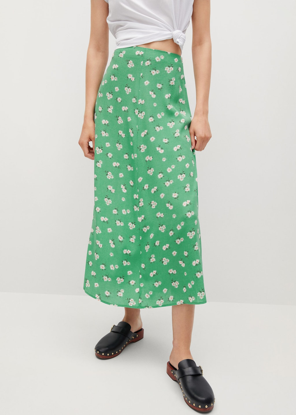 Printed midi skirt   Woman   Mango Estonia
