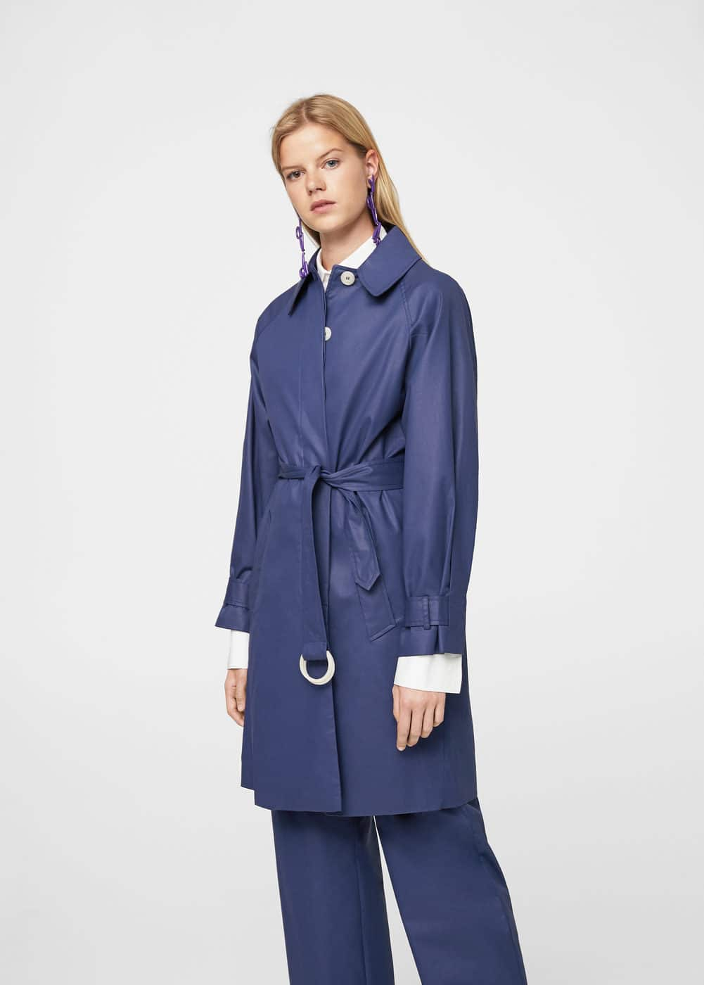 Belt coated trench | MANGO