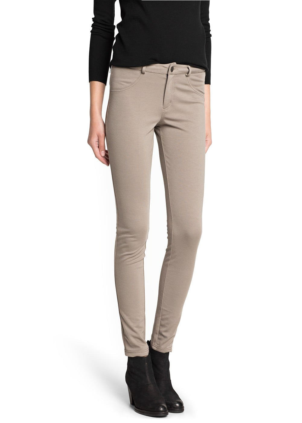 Pantalón super-slim stretch | MANGO