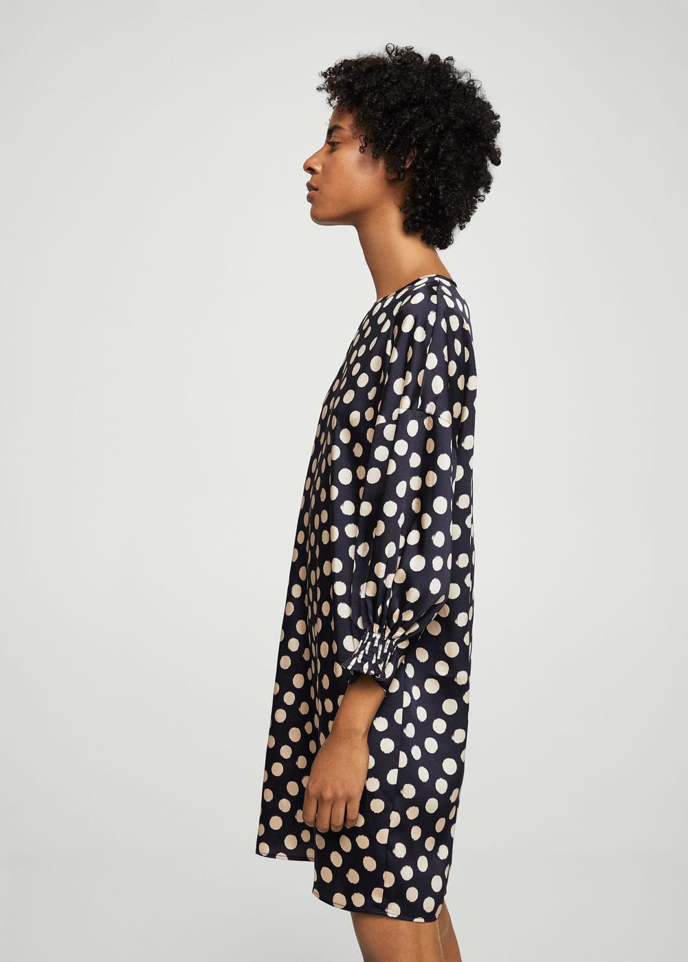 Polka-dot dress | MANGO