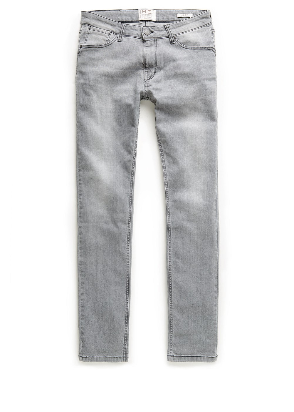 Slim-fit grey alex jeans | MANGO MAN