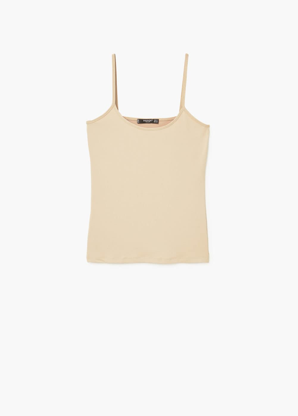 Essential strap top | MANGO