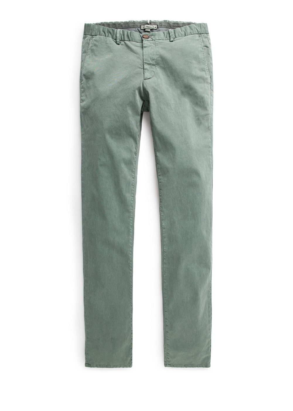 Slim-fit washed cotton chinos | MANGO MAN