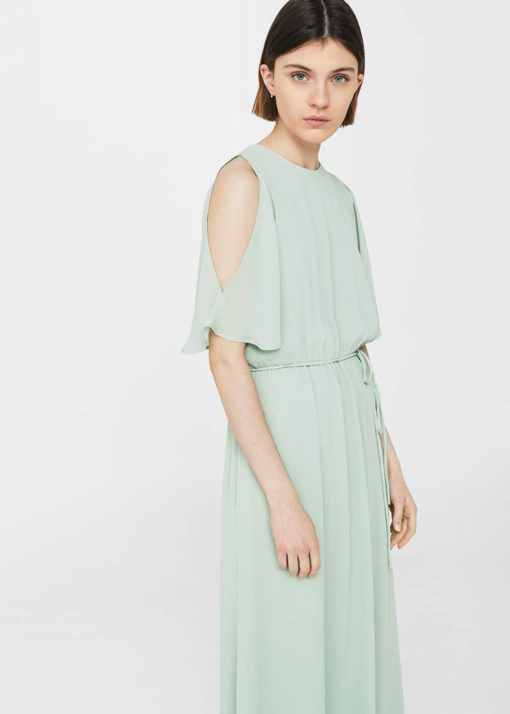 drawstring waist dress | MNG