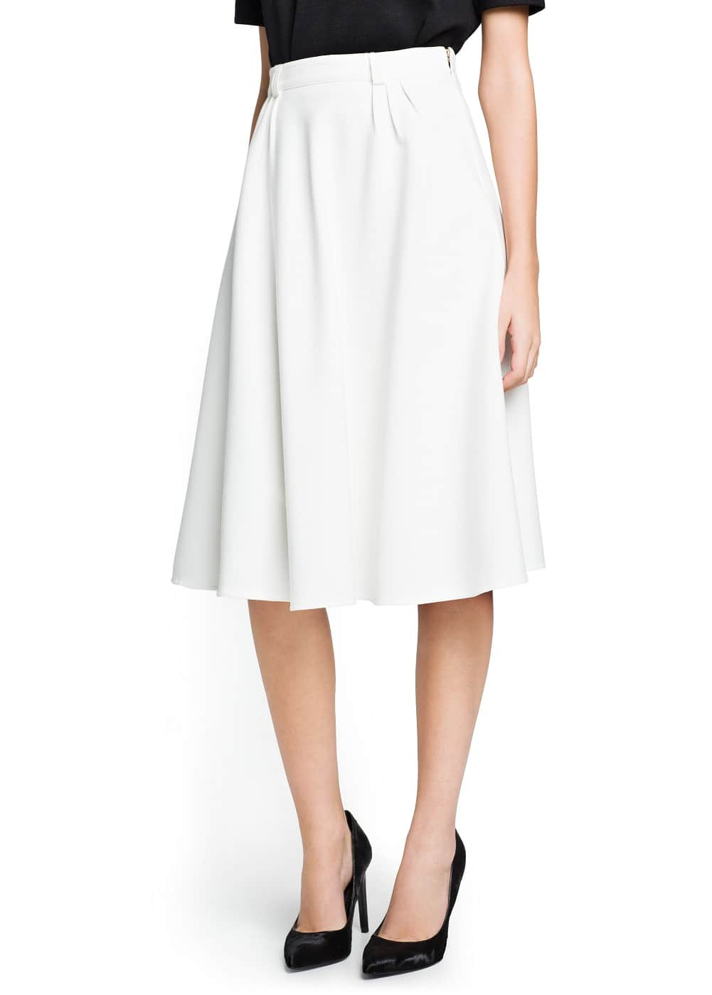 Full midi skirt | MANGO
