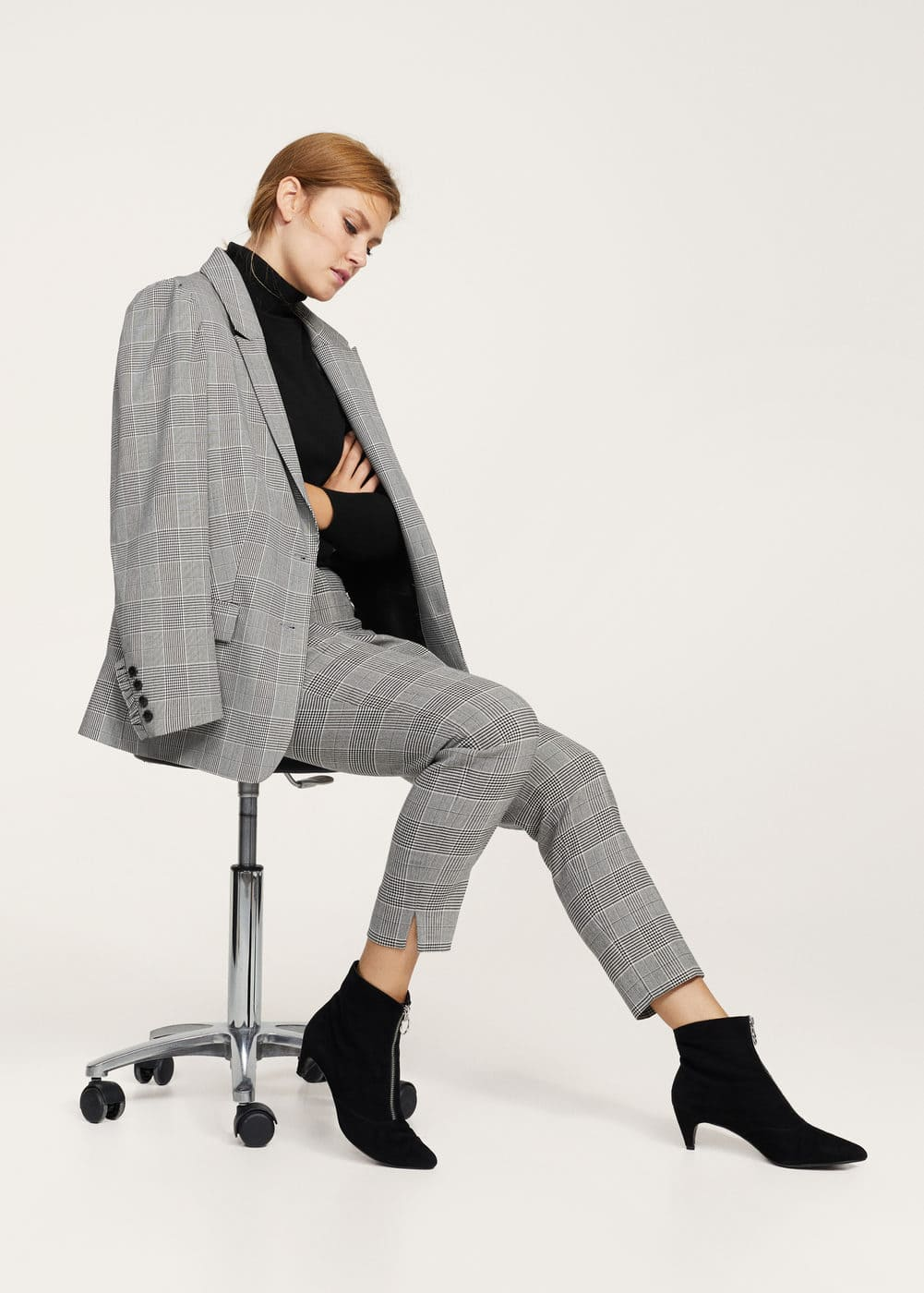Prince of wales trousers | MANGO