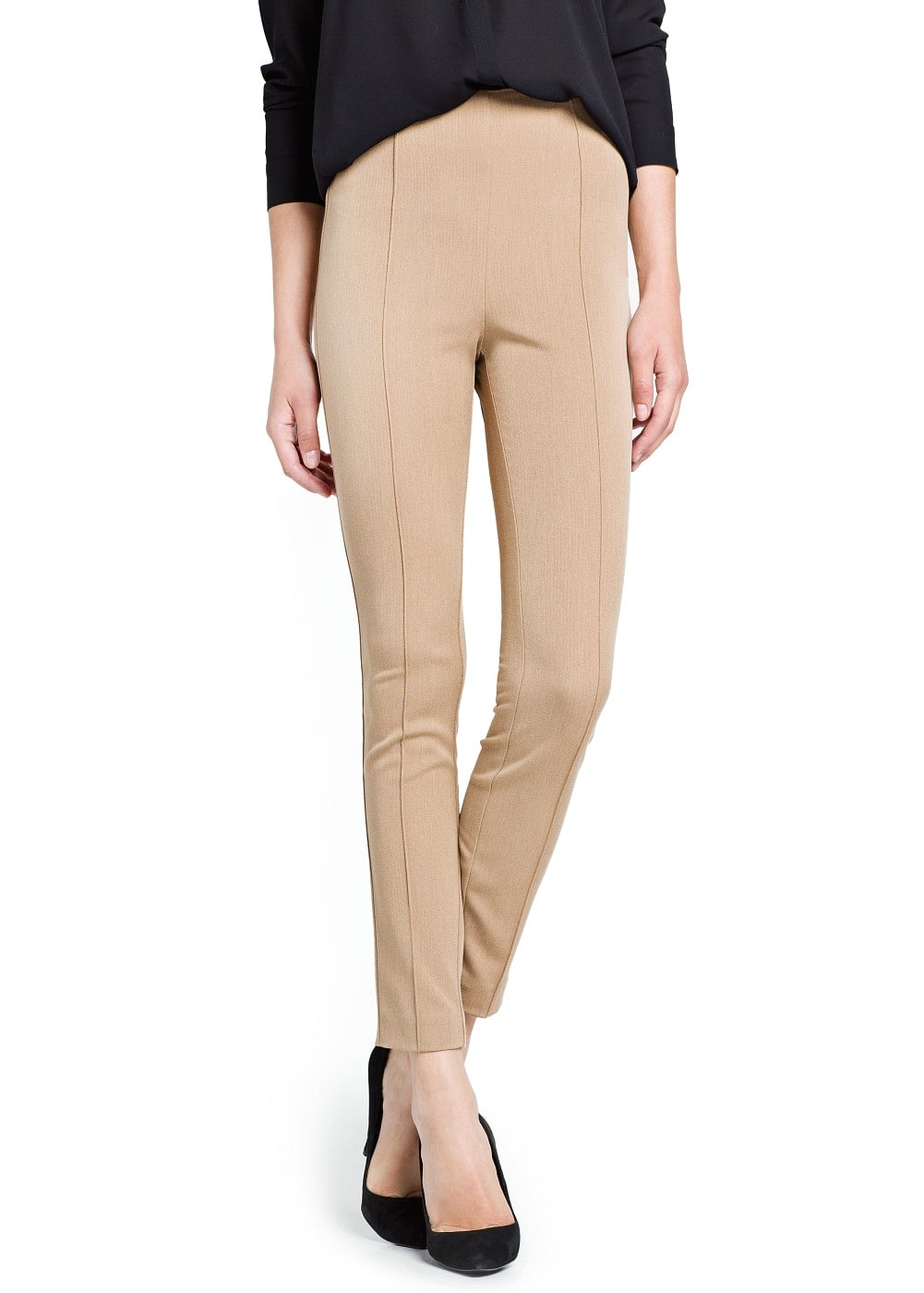 Slim-fit herringbone trousers | MANGO