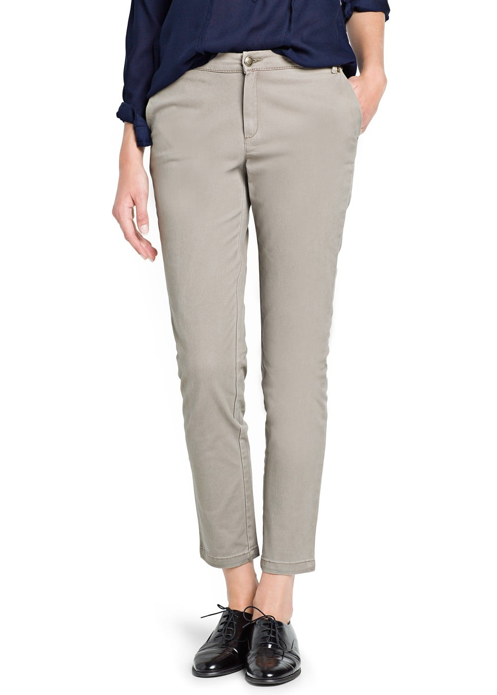 Cotton trousers | MANGO