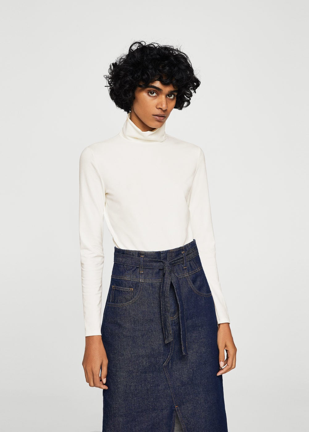 Turtleneck body | MANGO