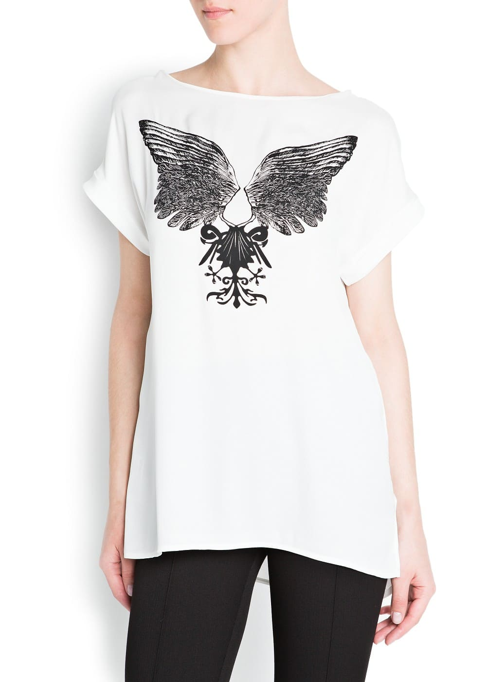 Wings shirt | MANGO
