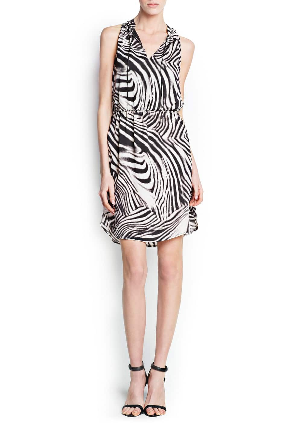 Zebra print dress | MANGO