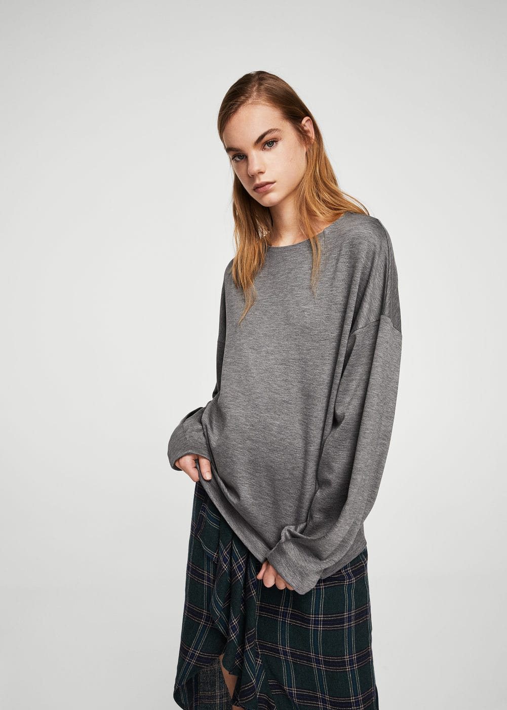 Flecked sweatshirt | MANGO