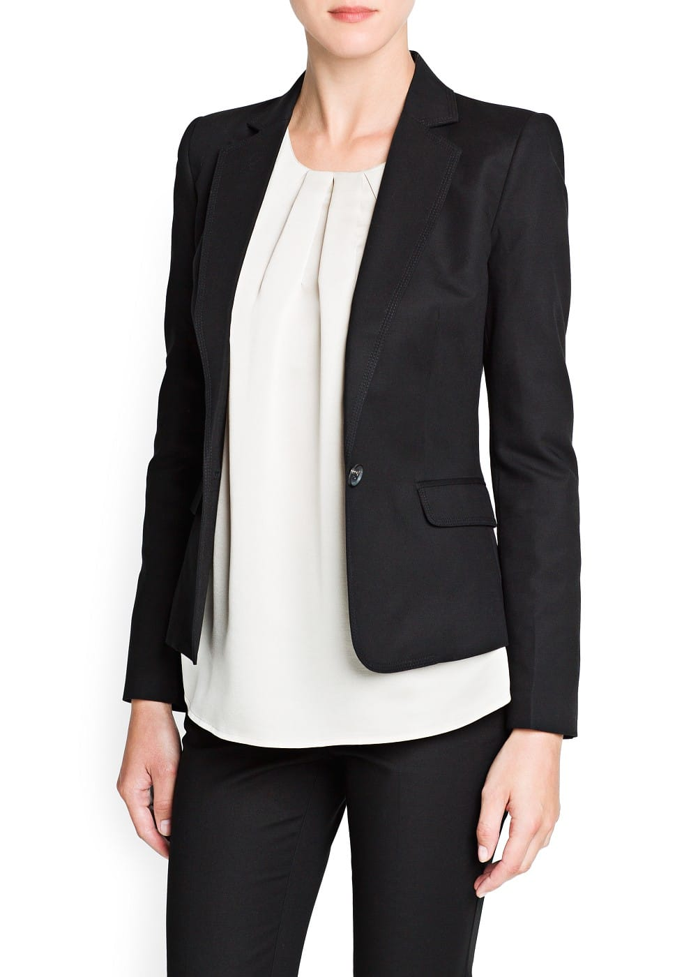Cotton blazer | MANGO