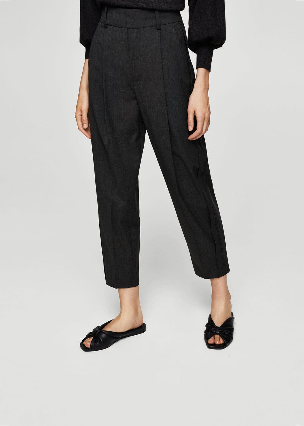 Pleated suit trousers | MANGO
