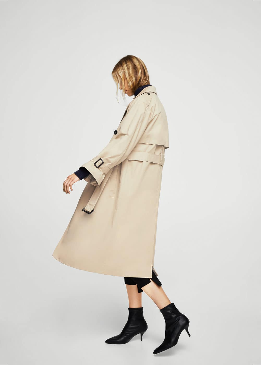 Double breasted trench | MANGO
