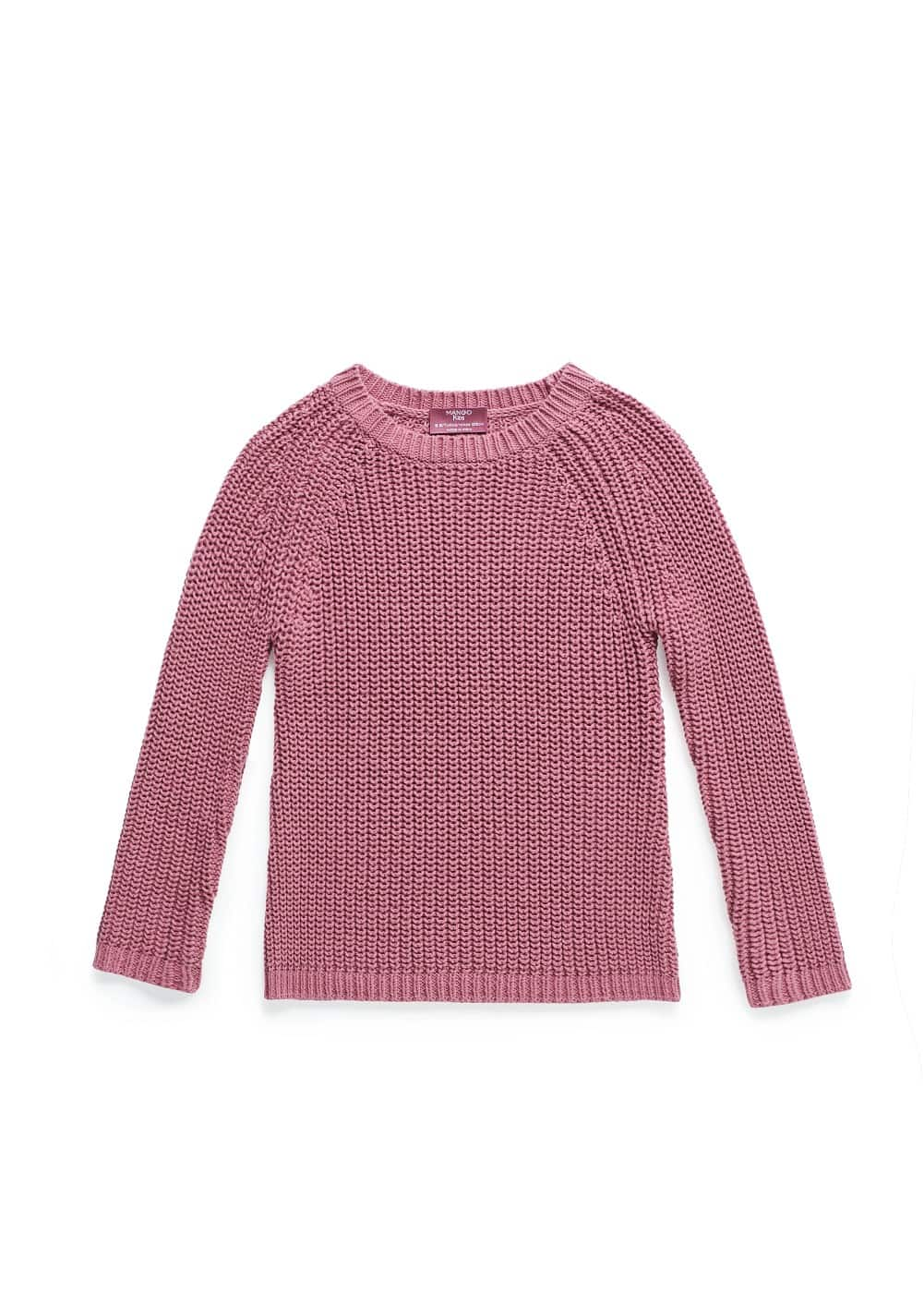 Chunky knit sweater | MANGO KIDS