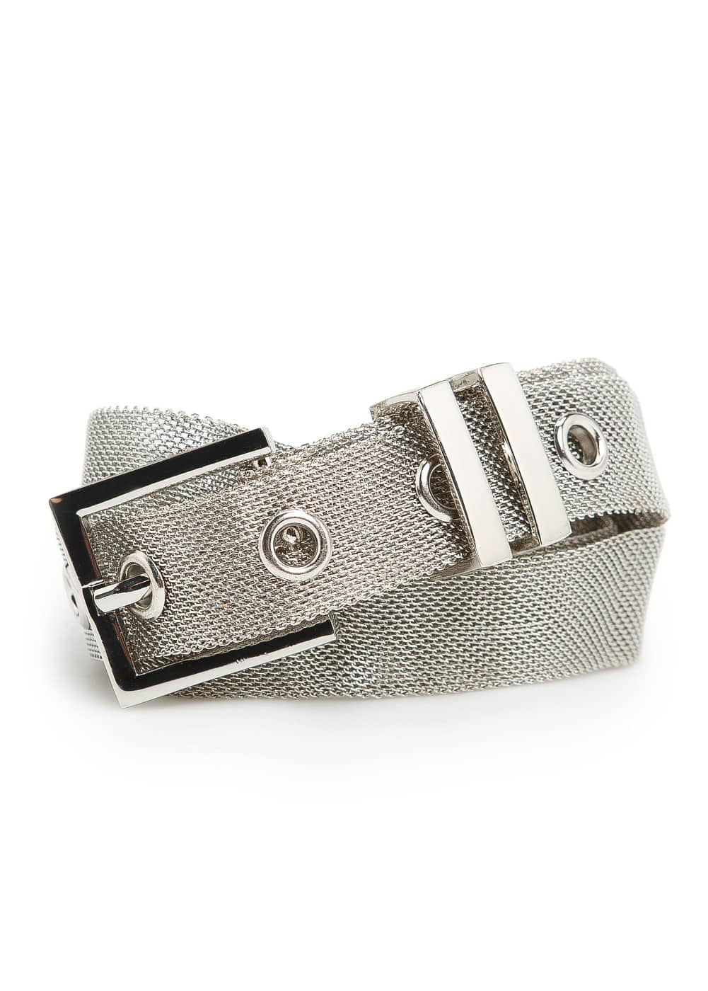 Metal mesh belt | MANGO