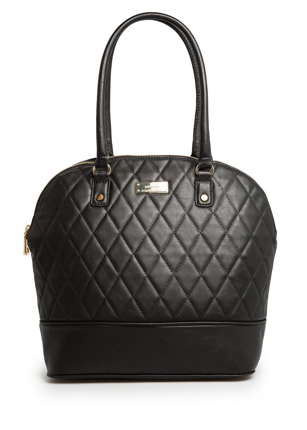 Quilted tote bag | MANGO