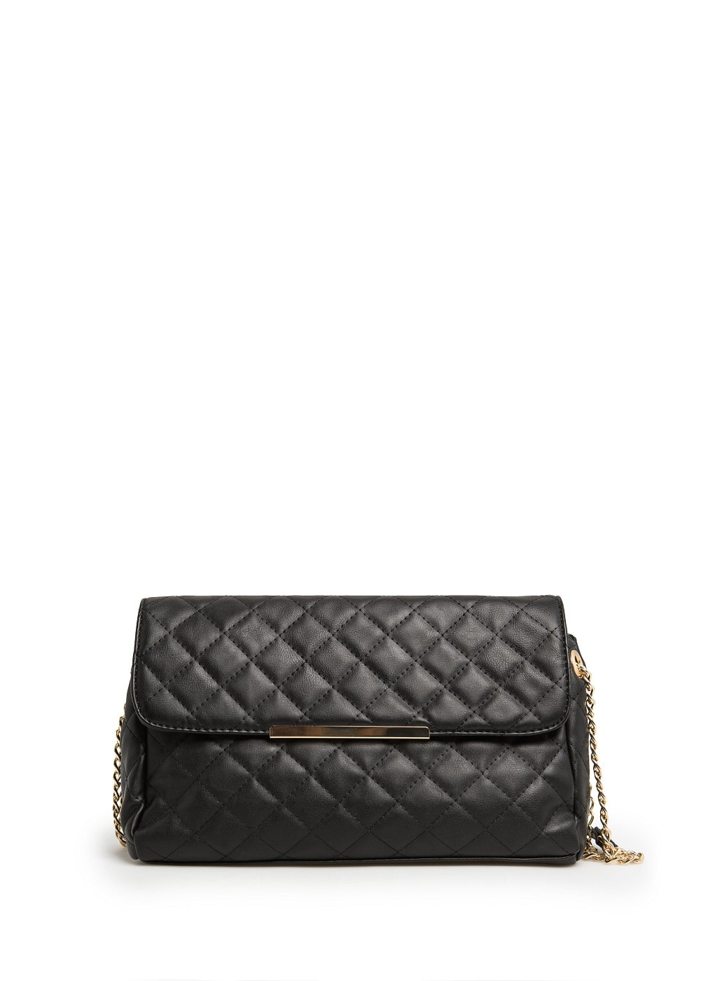 Metal detail quilted bag | VIOLETA BY MANGO