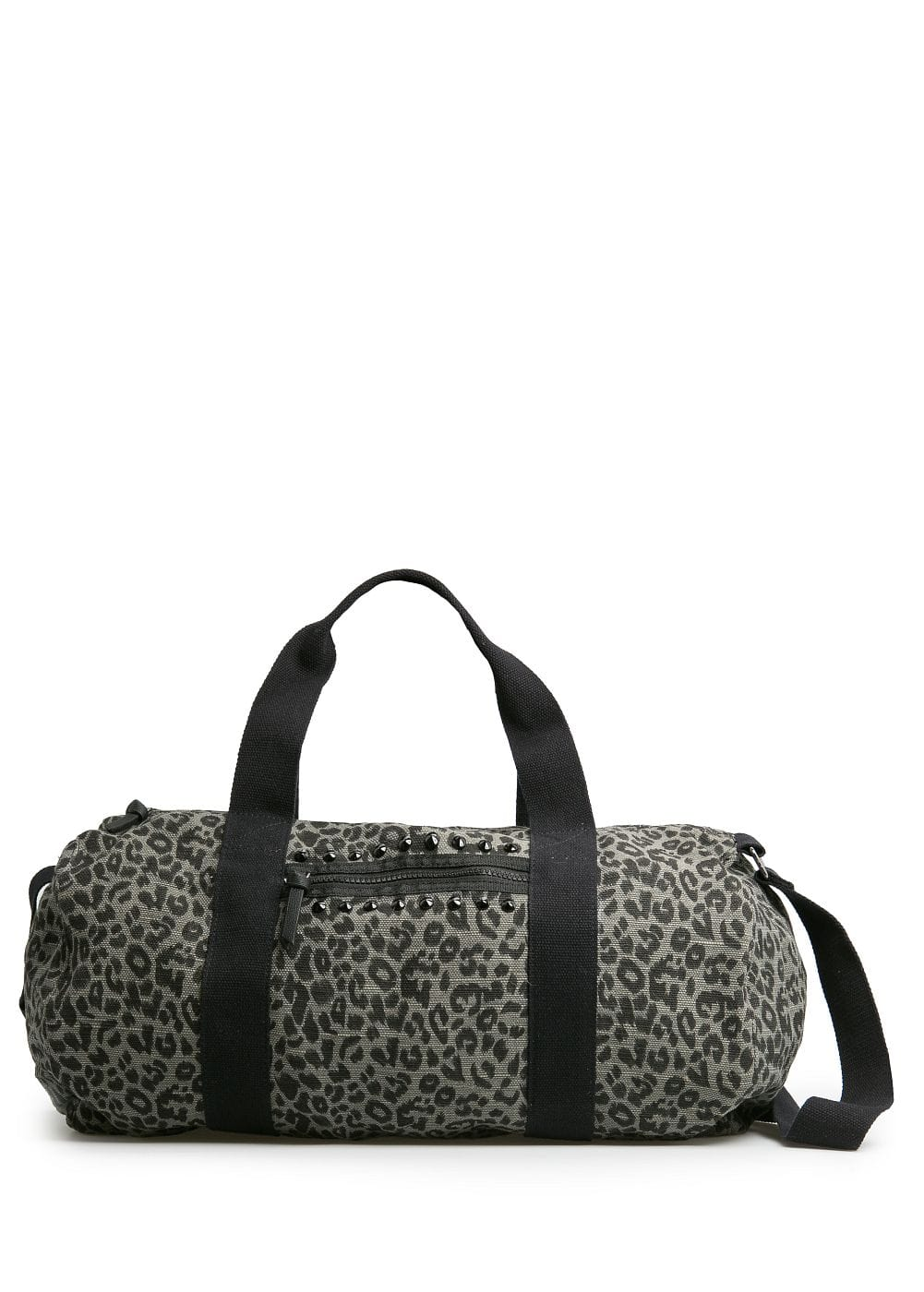 Leopard print weekend bag | MANGO