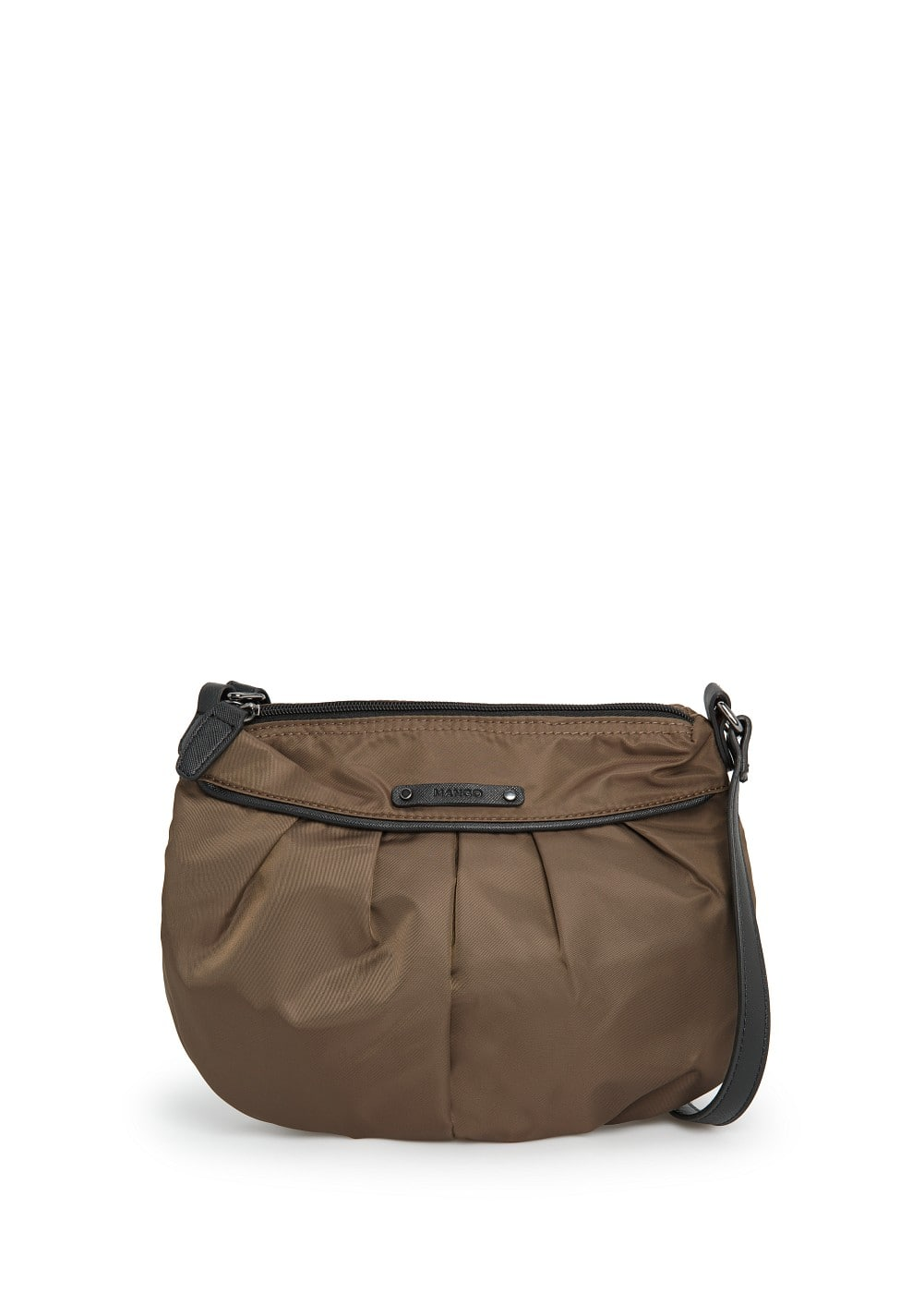 Pleated shoulder bag | MANGO