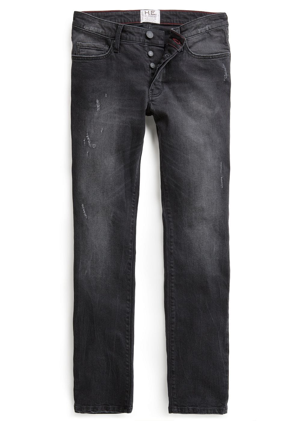 Jeans tim slim-fit negros | MANGO MAN