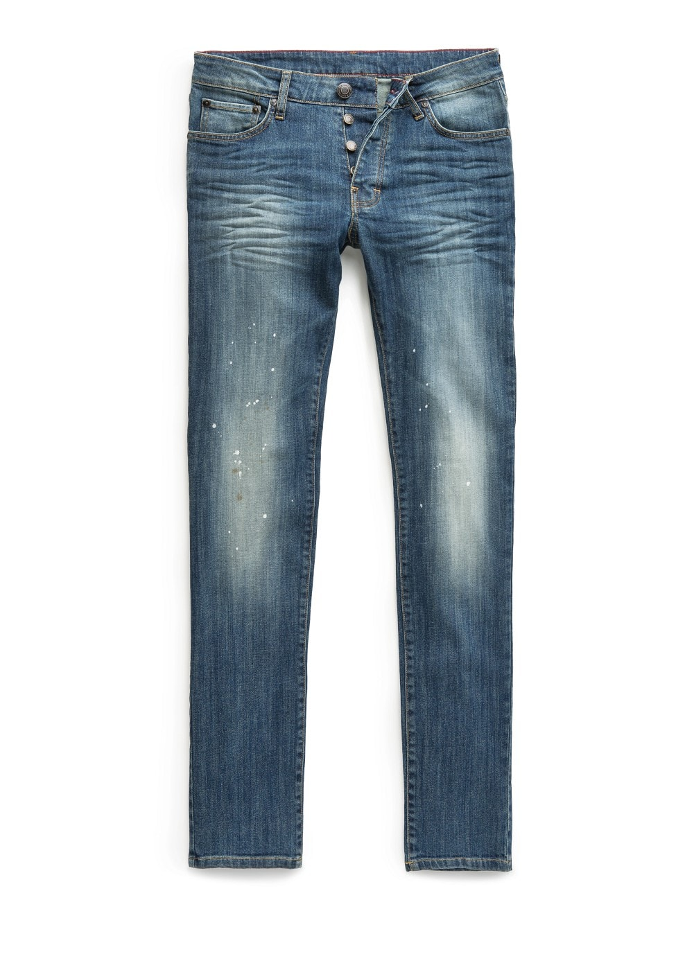 Slim-fit vintage wash tim jeans | MANGO