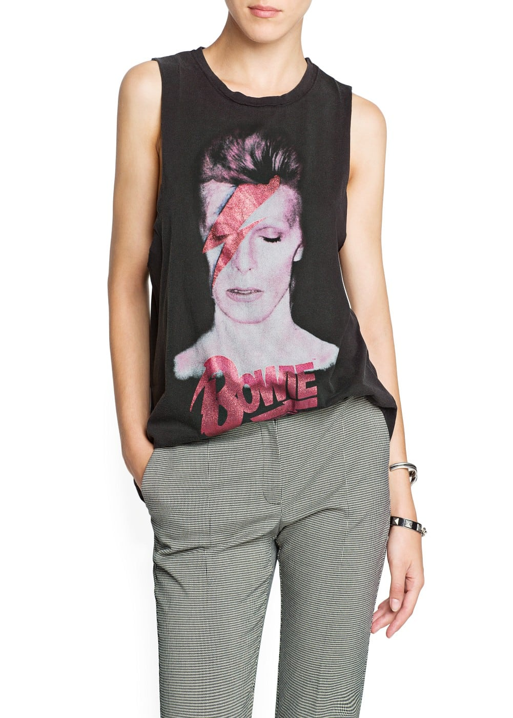 """bowie"" cotton t-shirt 