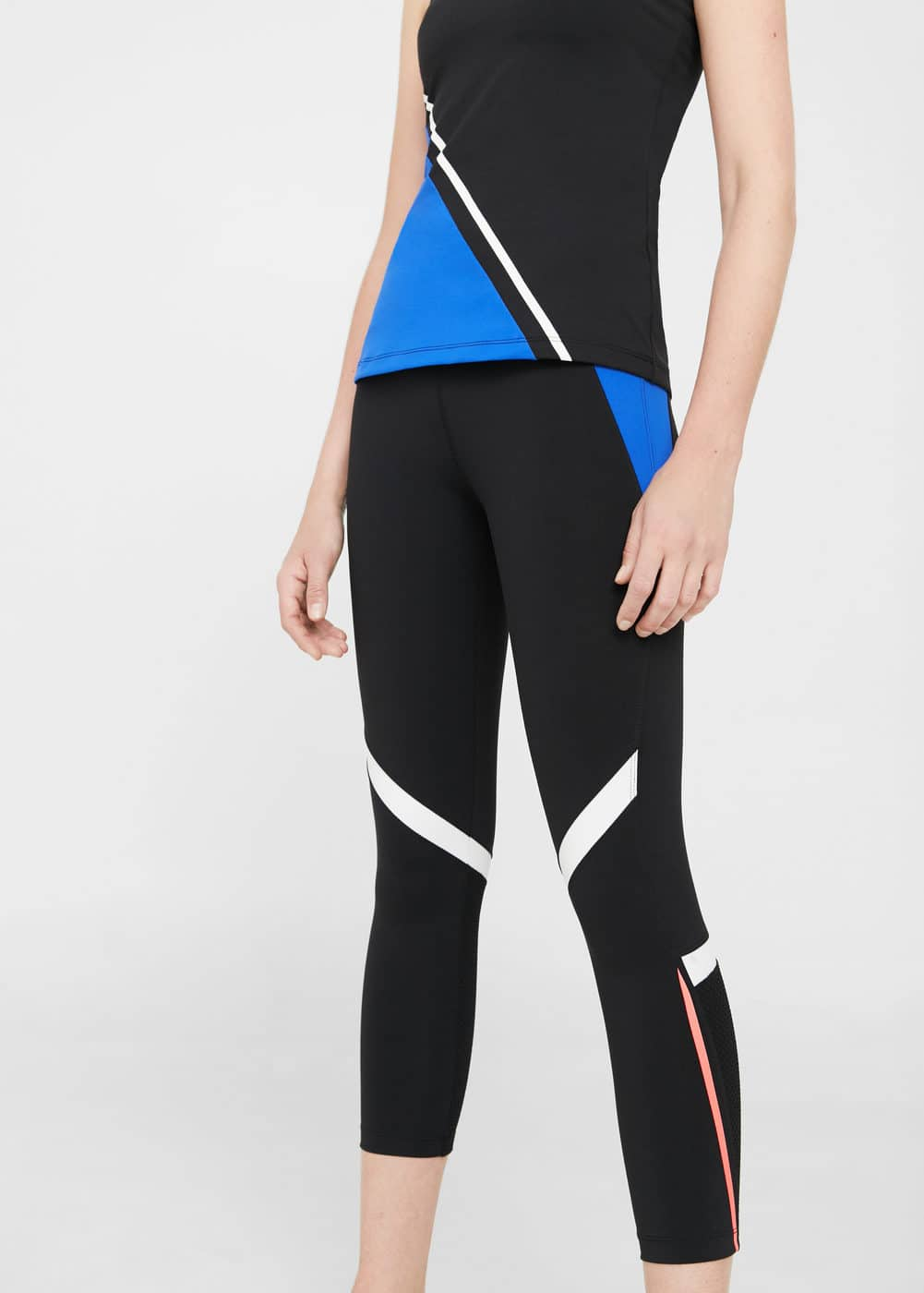 Leggings capri multi-sport | MANGO