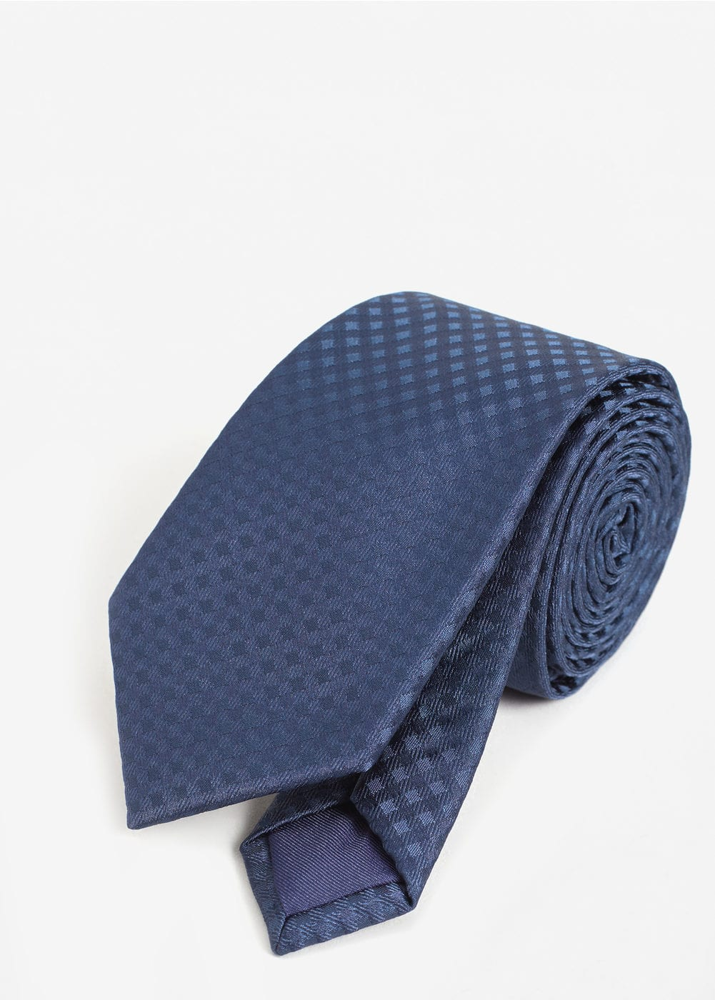 Patterned tie | MANGO MAN