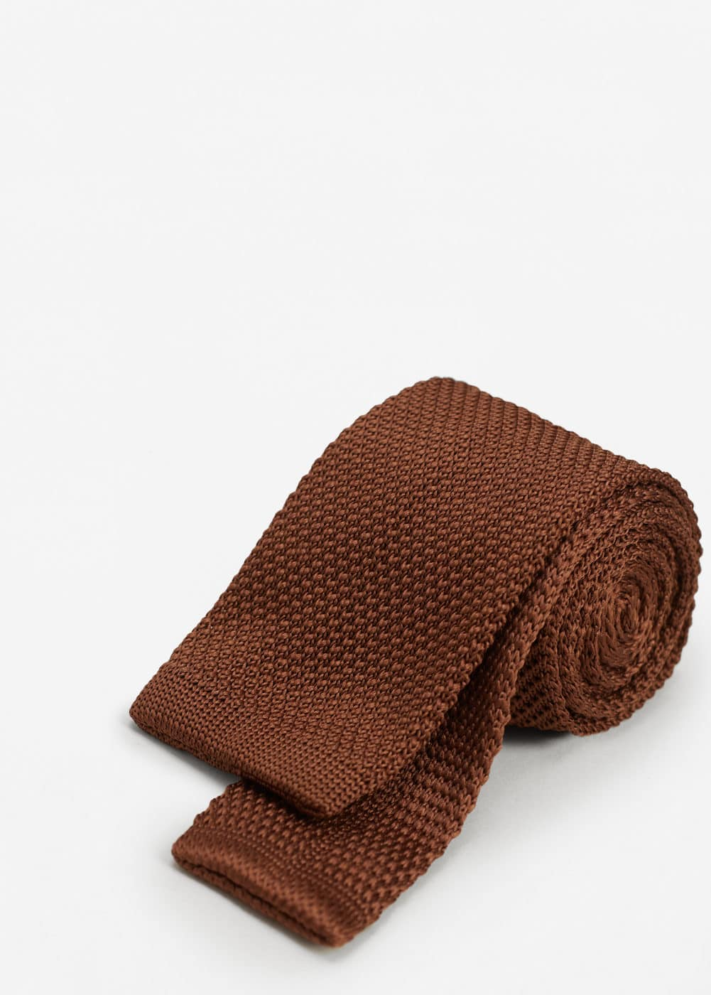 Textured knit tie | MANGO MAN