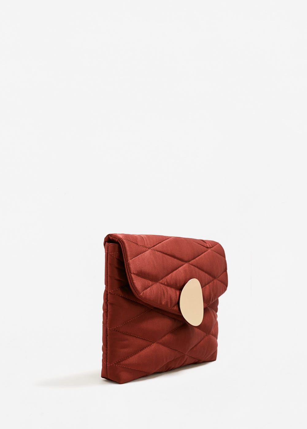 Quilted clutch | MANGO