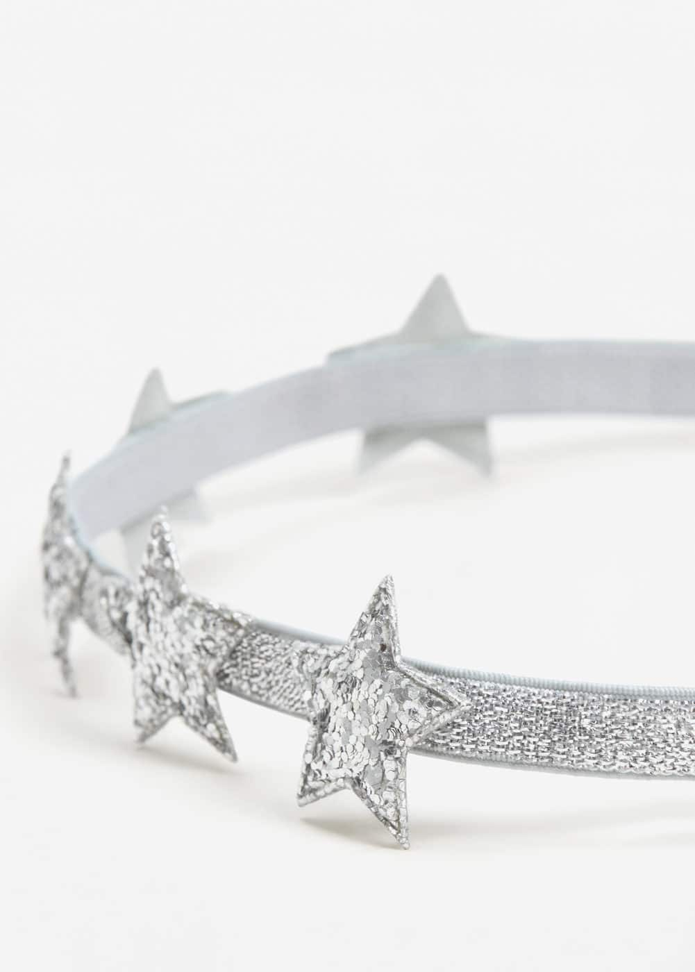 Glitter star hairband | MANGO