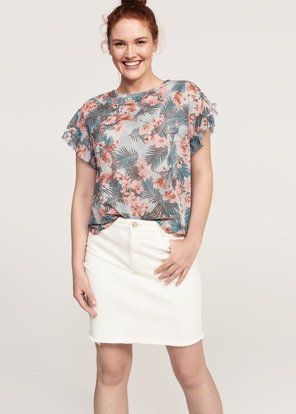 T-shirt | VIOLETA BY MANGO